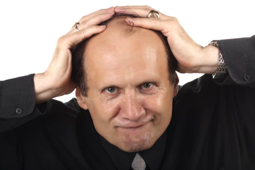 hvor mange hår mister man om dagen